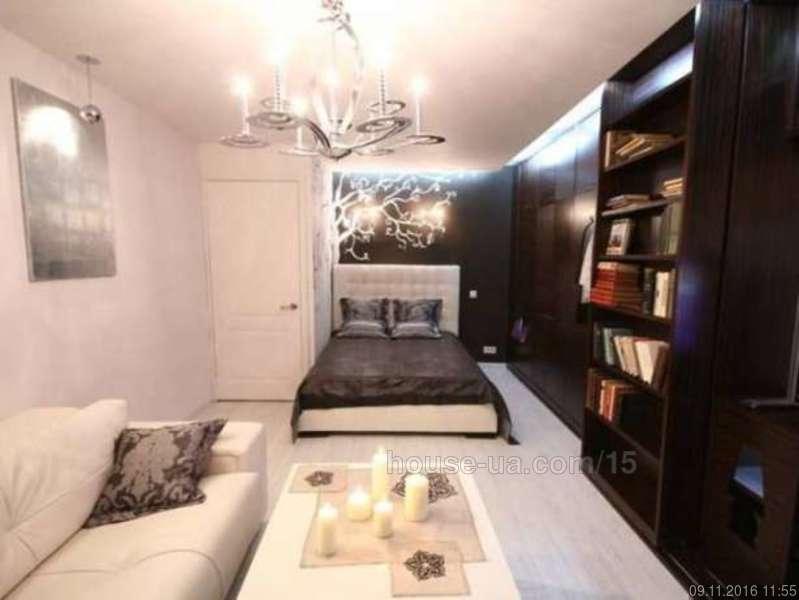 Дизайн гостиной-спальни в одной комнате - фото